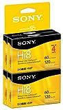 Sony Hi8Camcorder 8mm Kassetten 120Minuten (4er Pack) (Auslaufmodell)