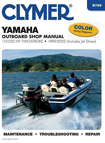 [Yamaha Outboard Shop Manual (Clymer Motorcycle Repair Series)] (By: Clymer Publications) [published: March, 2003]
