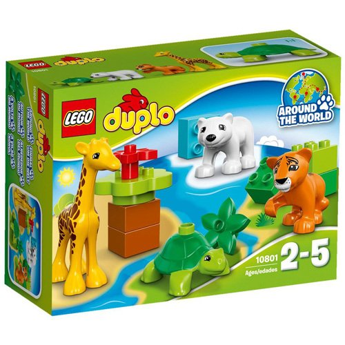 LEGO-10801-Duplo-Town-Baby-Animals-Multi-Colour