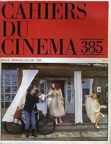 Max Mon Amour - Cahiers du cinema n° 385 -