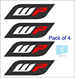 #5: signEver WP Sticker For Ktm Duke And Other Bike Forks, Stumps,Water Resistance Sticker (Pack Of 4 Stickers )