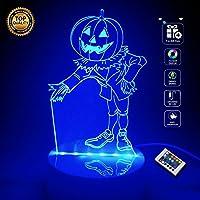 [Halloween Pumpkin] BOPU® 7 Cambiano Colore Luci dell'arte Scultura Up