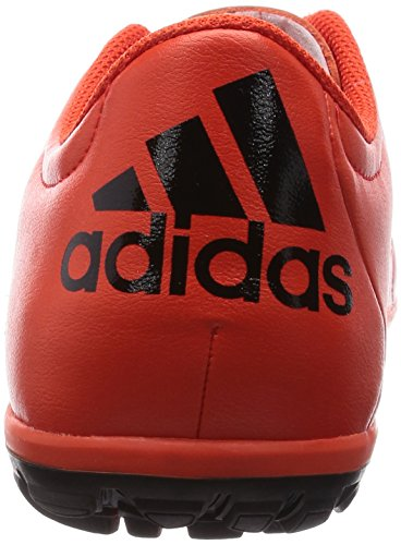 Scarpe Da Calcio Adidas Mens X15.3 Tf In Pelle Bold Orange-core Black-solar Orange (b33005)