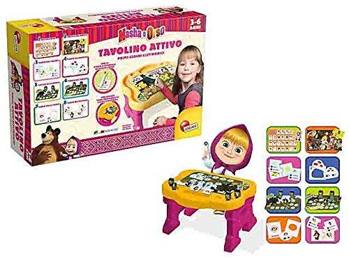 Masha e orso tavolino attivo sviluppo della mente giocattolo giochi educativi apprendimento giocattolo gioco idea regalo natale #ag17