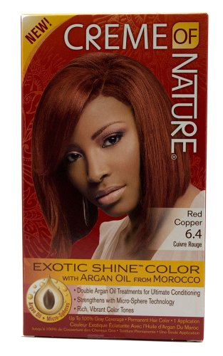 Permanent Gel Hair Color - 7.64 Red Copper