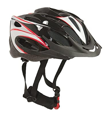 Sport Direct Junior Bicycle Helmet Black 52-56cm by Sport Direct