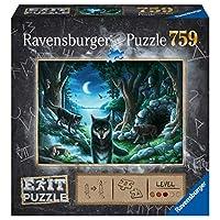 Ravensburger-15028-Exit-7-Wolfsgeschichten Ravensburger Puzzle 15028 – Wolfsgeschichten 759 Teile Exit Puzzle – Premium Qualität für EXIT- begeisterte ab 12 Jahren -