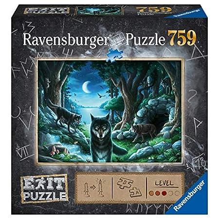 Ravensburger EXIT Puzzle 15028 – Wolfsgeschichten – 759 Teile Puzzle für Erwachsene und Kinder ab 12 Jahren