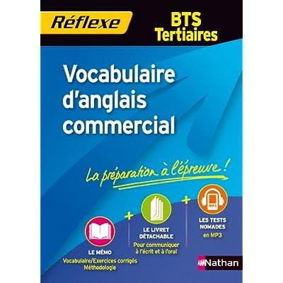 Vocabulaire d'anglais commercial - BTS Tertiaires