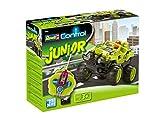 Revell Control Junior RC Car CRASH CAR - ferngesteuertes Auto mit 27 MHz Fernsteuerung, kindgerechte Gestaltung, ab 3, mit Spielfigur und Schleudersitz-Funktion, leicht zusammenbaubar - 23000