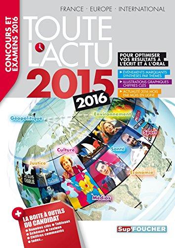 Toute l'actu 2015 : Concours et examens