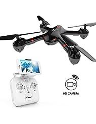 DROCON Cyclone X708 - Un premier drone pour les débutants, Quad-coptère d'entraînement avec figure de voltige, mode guidage, retour à une touche et pilotage facile