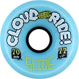 Cloud Ride Wheels Cloud Ride Wheels Slide Powder Skateboard Wheels - 70mm 77a (Set Of 4)