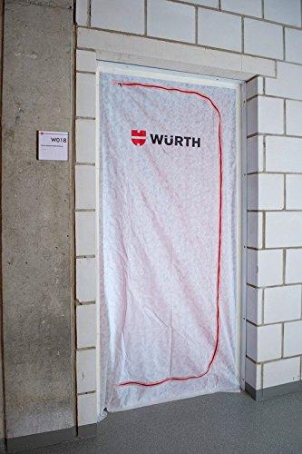 Würth 0992419990 Staubschutztür, weiß -