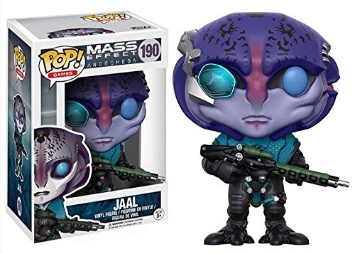 Funko Pop Pack Sarah Ryder + Jaal (Mass Effect Andromeda) Funko Pop Mass Effect