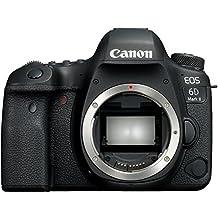 Canon EOS 6D Mark II Body Fotocamera Digitale Reflex, Nero