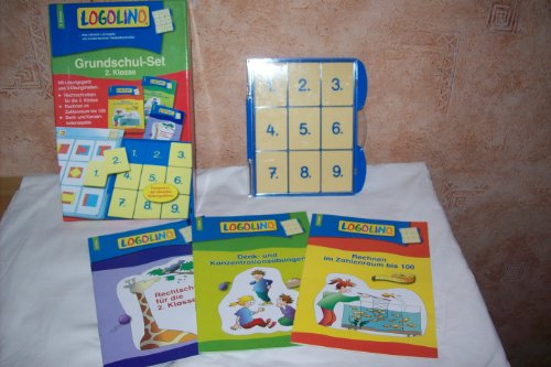 LOGOLINO- Lernspiel, Grundschul-Set, 2. Klasse