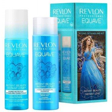 REVLON Rev Pack Duo Equave Hydro Shampoo 250 ml/Conditioner 200 ml (Detangling Shampoo)