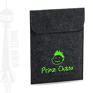 Tablet Filzhülle 'Prinz Chaos'