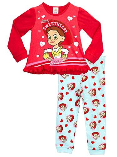 Disney toy story - pigiama a maniche lunghe per ragazze - 6 - 7 anni
