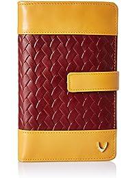 Hidesign Women's Wallet (Red Honey)