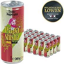 Papa Shisha/Apfel 24 x 0,33 L Dosen Kuss-Trunk aus der Höhle der Löwen ( Neutralisiert Mundgerüche aller Art, Pfandfrei ) - Bleib Lecker! (24er Tray)