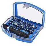 ORIA 31 in 1 Schraubenzieher Set, Magnetisch Werkzeugset mit 30 Bits und 1 Griff, Ideale für Handy, Computer, Tablet, Kamera und Andere Elektronische Geräte.