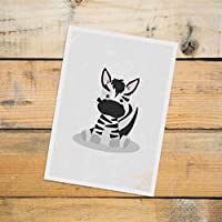 Postkarte Dreamchen Kinderzimmer Deko Zebra