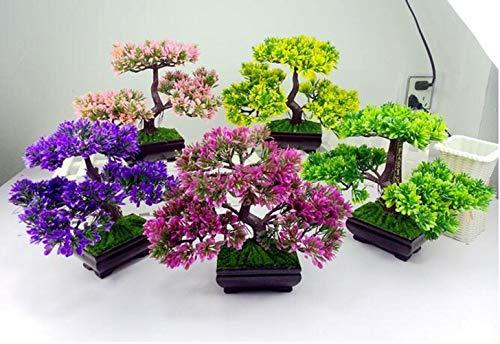 Dekorative Blumen Dekorative künstliche Bäume mit Blüten, 5, 1