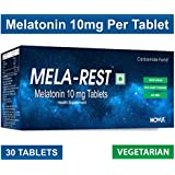 Carbamide Forte Melatonin MELA-REST 10mg Softgel Natural Sleeping Aid Pills - Pack of 30