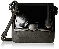 Gussaci Italy Women's Handbag (Grey) (GC336)