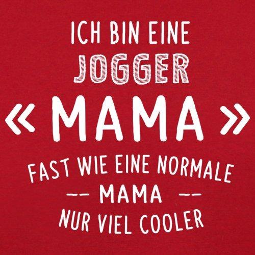Ich bin eine Jogger Mama - Herren T-Shirt - 13 Farben Rot