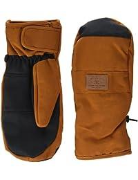 DC Shoes Franchise se moufle de snowboard para hombre, Hombre, color Leather Brown/Solid, tamaño FR : M (Taille Fabricant : M)