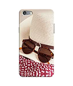 Sketchfab Styles Cap With Sun Glasses Latest Design High Quality Printed Designer Back Case Cover For Oppo Neo 7