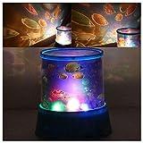 Aeeque® Romantisch / Lila Sternenhimmel Mini-Stern-Projektor / mit USB Kabel / LED Nachtlicht Projektor Lampe Kinder Nachttischlampe Schlafzimmer Haus Dekoration