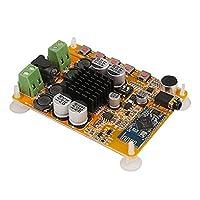 Hanbaili TDA7492 Bluetooth 4.0 Audio Receiver Amplifier Board, TDA7492 2x50W Bluetooth 4.0 Audio Digital Amplifier, AMP Board 10-25V MIC AUX