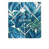 SHUNSHUNML Japanischer Vorhang Pflanzenserie Blauer Vorhang Baumwoll- Und Leinenschmuck Nach Hause Feng Shui Vorhang Wohnzimmer Trennwand Vorhang Vorhang Hängen Benutzerdefinierte Karte 85 × 120 cm