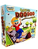 KreativeKraft Dodge Doo The Ultimate Dough and Playing Mat Kids Dog Poo Multiplayer Game for Outdoors Indoors, Brown