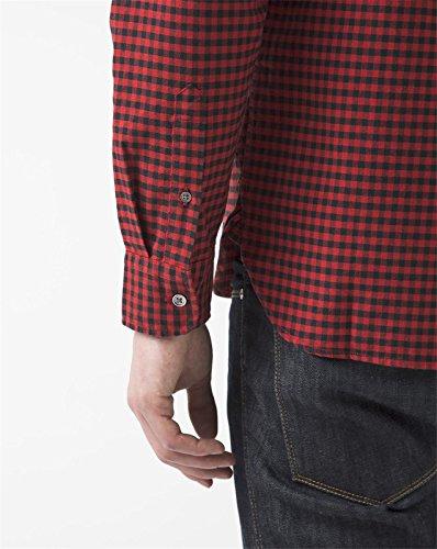 Levi's Herren Freizeit-Hemd Rot
