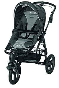 Bébé Confort Poussette 3 Roues High Trek Tout-terrain - Naissance à 15 Kgs - Concrete Grey