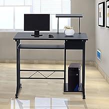 Mesa de Ordenador PC Despacho Escritorio 90x50x95cm Mobiliario Oficina Madera