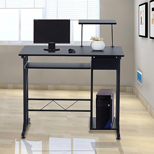 Mesa de Ordenador PC Despacho Escritorio 90x50x95cm Mobiliario Oficina