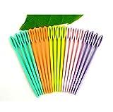 Sungpunet 40 Stück Mehrfarbig Kinder Kunststoff 7 cm Nadel Geeignet zum Nähen, Binca und Tapisserie.