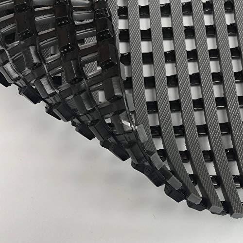 HYSA MAT Antirutschmatte PVC Fußmatte für Nassbereiche wie Schwimmbäder und Duschen größe 58*90 CM Grau
