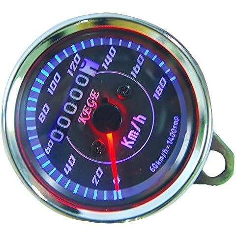 THG LDKMT180 LED de la motocicleta veloc¨ªmetro del od¨®metro de medidores