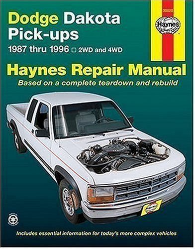 by-haynes-john-dodge-dakota-pick-ups-1987-thru-1996-haynes-manuals-1996-paperback