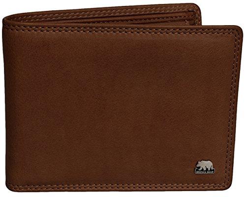 Brown Bear Geldbörse Herren Leder Golf 1009 ca
