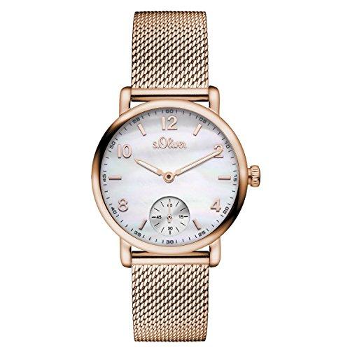 s. Oliver–Reloj de pulsera analógico para mujer cuarzo So de 15095de MQR