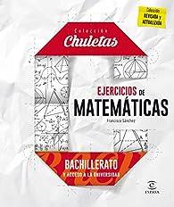 Ejercicios matemáticas para bachillerato par Francisco Sánchez