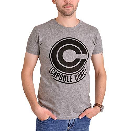 T-Shirt Capsule Corporation Logo grau - XL ()